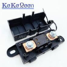 1PCS ANM-H3 MEGA Auto Fuse Holder/ANM Bolt-on blade fuse holder Flat Type Fuse 50A 60A 70A 80A 100A 125A 175A 200A 225A -500A high power high voltage drop type fuse link fuse rw11 10 12kv 100a 200a