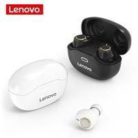 Lenovo X18-auriculares Tws con Bluetooth y botón táctil, cascos deportivos de largo tiempo en espera con micrófono
