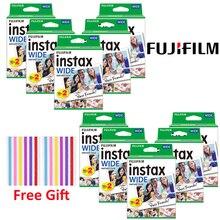 Пленка для мгновенной печати Fujifilm Instax WIDE 210 200 300 100 500AF, 10 200 листов, широкая пленка Instax Mini, фотобумага