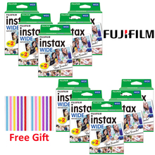Fujifilm Instax geniş 210 200 300 100 500AF anında Film kamera 10 200 sayfa Instax Mini geniş filmler fotoğraf kağıdı