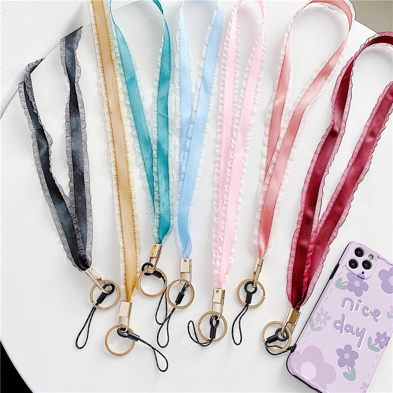 Camouflage Style Silicone Ring Management Organizer for Phone Camera Gopro USB Drives Lanyard Keychain Straps,Red//Pink