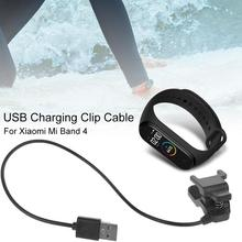 New High-quality USB Charging Dock Cable Replacement Cord Charger For Xiaomi Mi Band 4 Smart Bracelet Portable Wholesale new replacement usb charging cable charger cord for xiaomi mi band 2 smart watch