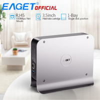 EAGET Y300 Mobile Hard Disk Smart Network Cloud Storage Mobile Hard Disk Box SATA USB3.0 Encryption Private Cloud Disk Network