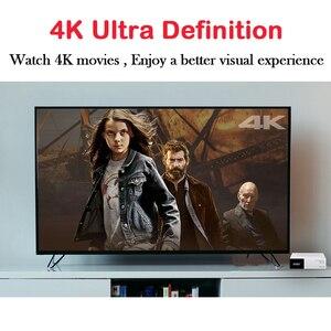 Image 4 - GTMEDIA TV Box GTC, 4K, HD, Android TV 6,0, Ultra 2G + 16G, wi fi, compatible con decodificador de señal M3U, reproductor multimedia, receptor satélite 1080P