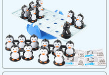 Penguin puzzle game Montessori mathematics education children party game children logic training toys baby toys baby supplies(China)