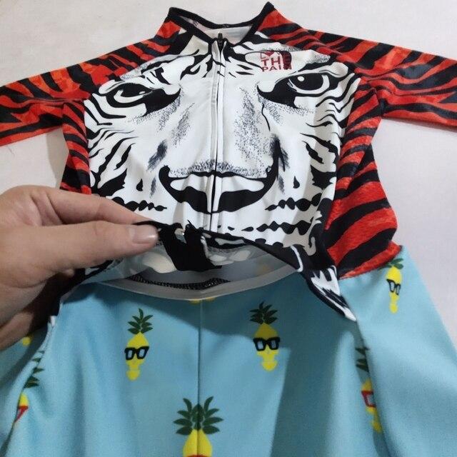 Triathlon Mulheres Adoram A Dor ao ar livre skinsuit camisa de ciclismo mtb roupas pro Time estrada jersey maillot ciclismo roupas de Corrida 4