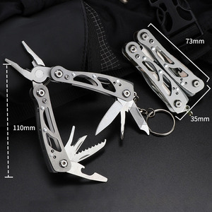 Survival Tools Outdoor Camping Survival Hand Tools Multifunctional Screwdriver Folding Versatile Gear 2020 New Multi-Tool Pliers