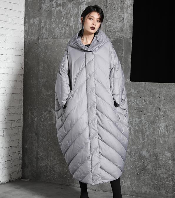 Loose Women Warm Winter   Down     Coat   Hooded 90% Duck Women   Down     Coat   Jackets 2018 New Fashion