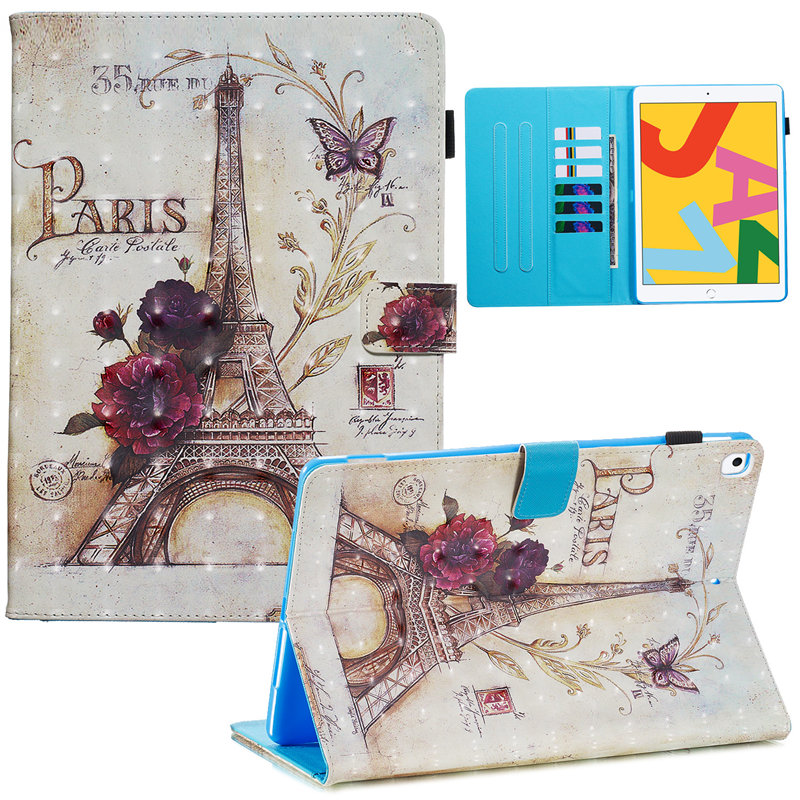 Smart iPad 7th Case Skin iPad 2019 A2232 A2200 Funda For Apple Generation for Cover 10.2