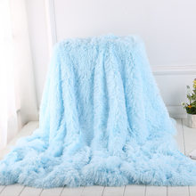 Shaggy Coral Blanket Warm Soft Blanket For Bed Sofa Bed Bedspreads Home Decoration Comfortable Bed Cover Blankets