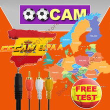 Cccam Europe spain germany Satellite tv Receiver 1 year 8 lines WIFI FULL HD DVB-S2 CccamPortugal Spain Germany Italy Poland(China)