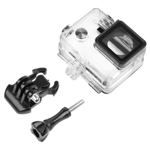 Go Pro Accessories Waterproof Housing Case for Gopro Hero 3+ / 4 Underwater Diving Protective Cover