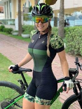 2020 roupa de ciclismo de estrada das mulheres roupa de ciclismo macacão colômbia lycra triathlon macacão ropa de ciclismo 9d 1