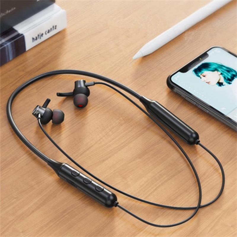 TWS DD9 Wireless Bluetooth Earphones Magnetic Sports Running Headset IPX5 Waterproof Sport earbuds Noise reduction Headphones 3