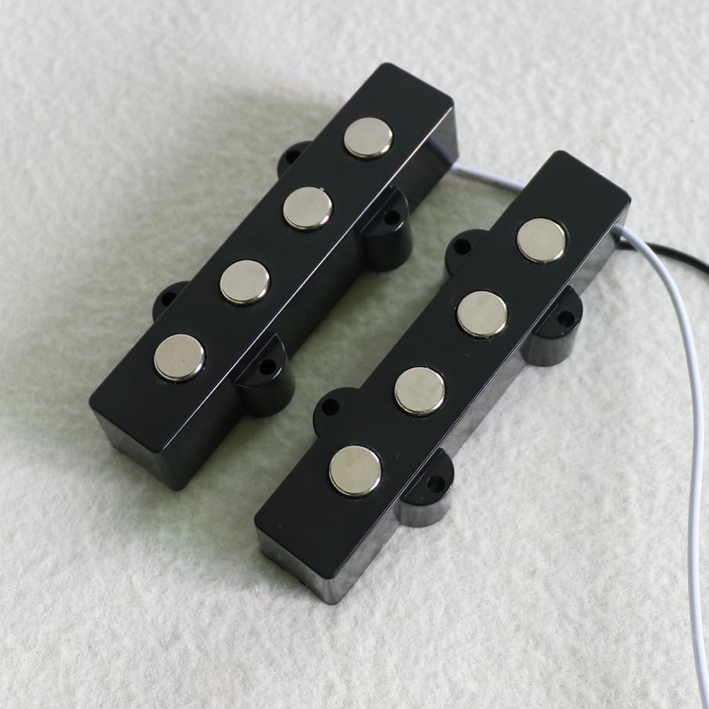 High Quality Donlis Diy Guitar Kit 1 Set Ceramic Guitar Pickups 4 String Jazz Bass Guitar Pickup Guitar Accessories  медиатор