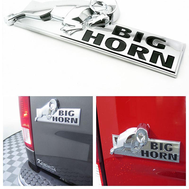 Dodge BIG HORN KEYRING KEYCHAIN O.
