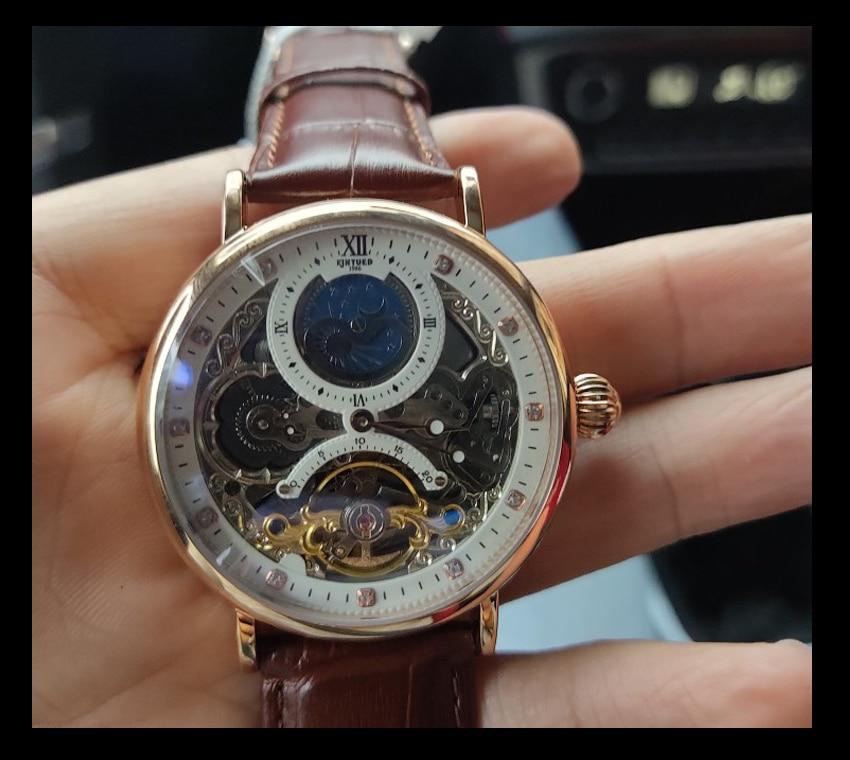H5594c5bc5f2d47d7a65ba0b17b660785y KINYUED Skeleton Watches Mechanical Automatic Watch Men Tourbillon Sport Clock Casual Business Moon Wrist Watch Relojes Hombre
