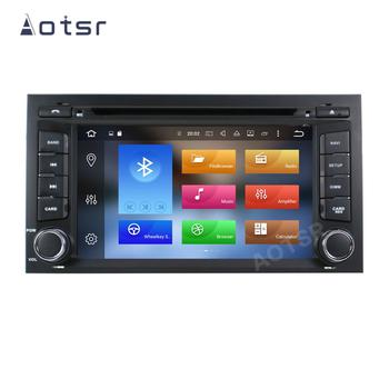 AOTSR 2 Din Car Radio Android 10 For Seat Leon 2012 - 2017 Central Multimedia Player GPS Navigation 2Din Autoradio Tape Recorder image
