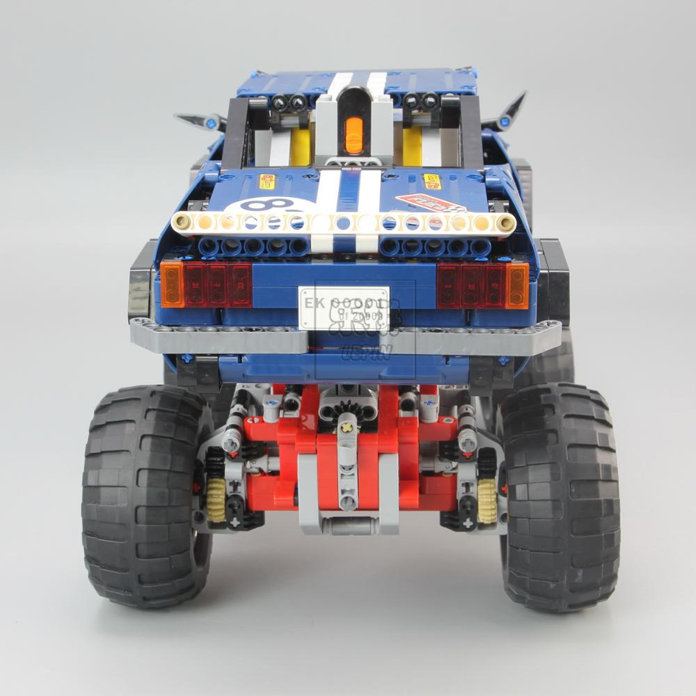 20011 Technic series Motor Power 4x4 Crawler Assembly Car Set Model Kit Building Blocks Bricks Compatible With legoing 41999 TOY 2