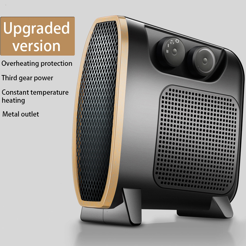 Portable Office Fan Heater Mini 1500W Electric Infrared Heater Electric Home Heater Air Warmer Silent Convector Handy Heater