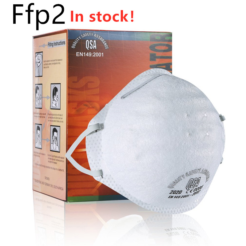Dust Mask Antivirus Flu Anti Infection Particulate Respirator FFP2 Level Anti-fog PM2.5 Protective Mask Safety Masks As N95 Ffp3