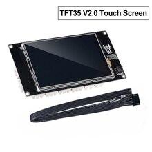 BIGTREETECH TFT35 V2.0 الذكية تحكم واي فاي عرض TFT3.5 بوصة تعمل باللمس ثلاثية الأبعاد أجزاء الطابعة ل SKR V1.3 برو mini e3