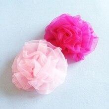 1 Pcs/lot Chiffon Flower Hair Clips Floral Headwear Women Girl Bohemia Styles Hairpins Beach Party Barrettes Accessories