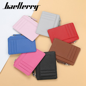 New small wallet card women Unisex Fashion Women Candy Color Bank Card Package Coin Bag Card Holder Multi Slot