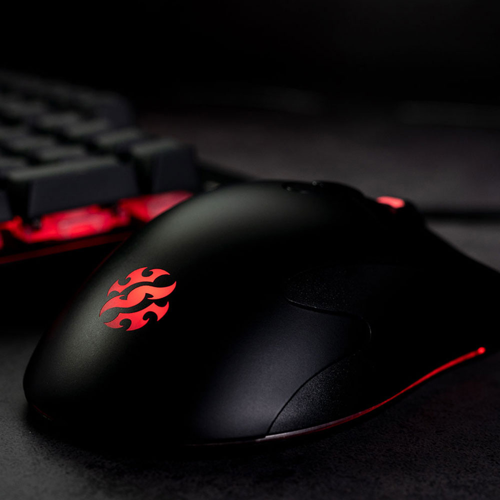 Adata INFAREX M20 USB Wired Mouse <font><b>5000dpi</b></font> 3D Optical Gaming Mice Mouses For PC Laptop Notebook Computers Mouse For office Home image