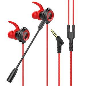 Наушники In-ear для игр CS игровая гарнитура проводные наушники 7,1 С микрофоном Регулятор громкости PC Gamer наушники для ПК телефона