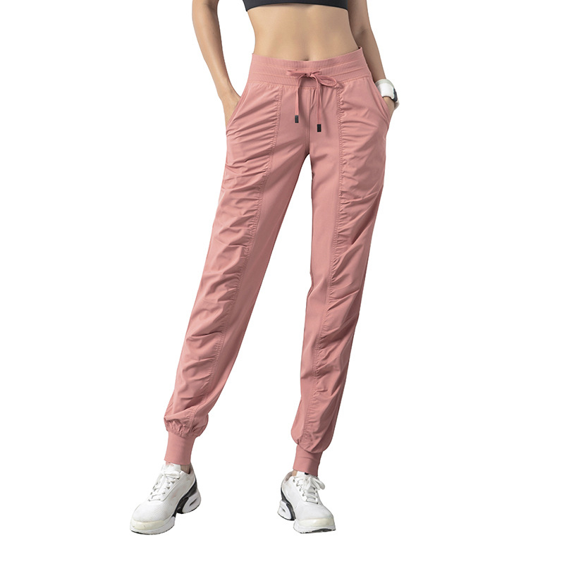 NANCY TINO Strap Pants for Women Polyester Breathable Mid Waist Fitness Trousers Running Outdoor Hiking Climbing Wear-resisting 1