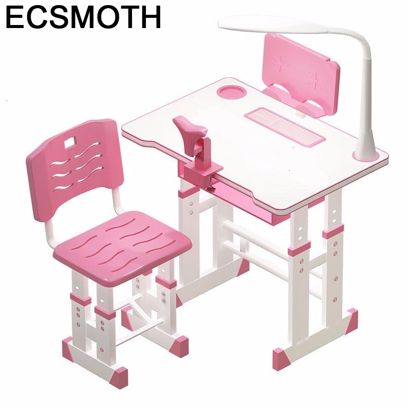 Play Y Silla Child Scrivania Pupitre Tavolo Bambini De Estudio Adjustable Kinder Enfant Mesa Infantil Study Table For Kids