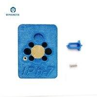Telefone casa botão de retorno impressão digital reparação chave estação aquecimento rápida fix retorno chave plataforma para iphone 7 plus reparo