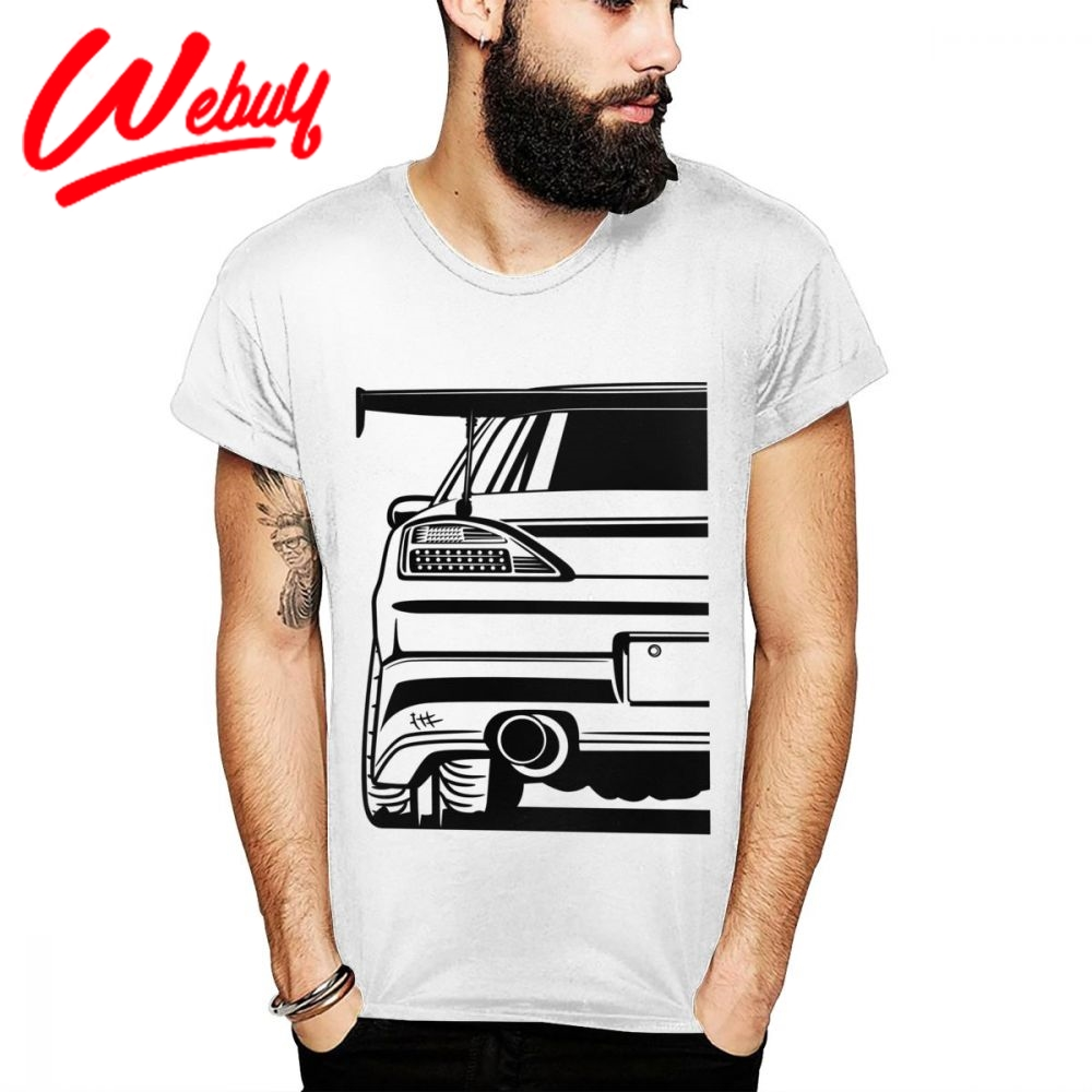 Summer Casual Nissan Silvia S15 Homme T Shirt Male Graphic Print Tee Shirt