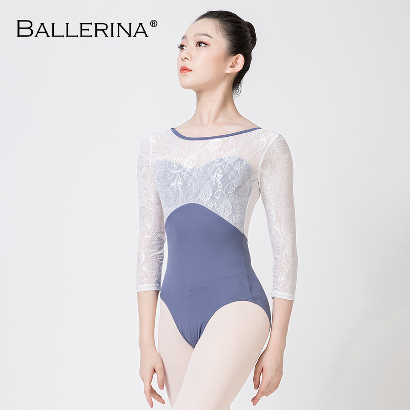 Ballet Leotard For Women Yoga Sexy Mesh Dance Leotard Gymnastics Leotards Girls Leotard Ballet Costumes Ballerina 5897