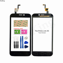 Mobile Phone Touch Screen For Prime LINK X5 Touch Screen Digtizer Touch Panel Front Glass Sensor Replacement Part