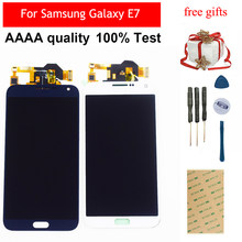 LCD For Samsung Galaxy E7 LCD Display E700 E700F E7000 E7009 LCD Screen Touch Screen Digitizer Sensor Assembly Replacement(China)