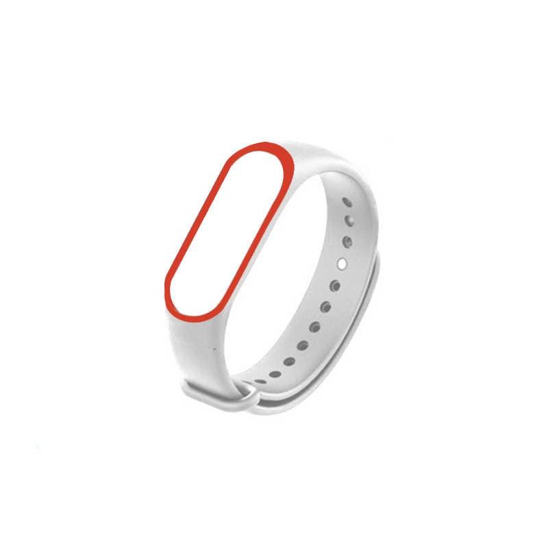 Neue armband für Xiao mi mi Band 4 Ersatz Silikon Armband Armband Handgelenk Gurt für mi band 4 nfc uhr band