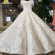 Robe de mariée à manches courtes, épaules dénudées, corset au dos, en tissu satiné blanc, conception royale, LS96120, 100%