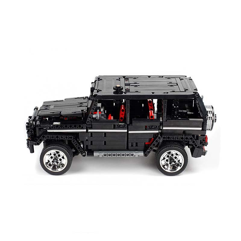 Image 3 - RC Motor Technic 20100 MOC 2425 SUV G500 AWD Wagon Car Sets Fit Legoing Building Blocks Electric Bricks Toys Gifts For Children-in Blocks from Toys & Hobbies