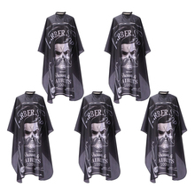5x Barber Shop Cape Home Salon Haircutting Gown Hairdressing Patterned Apron
