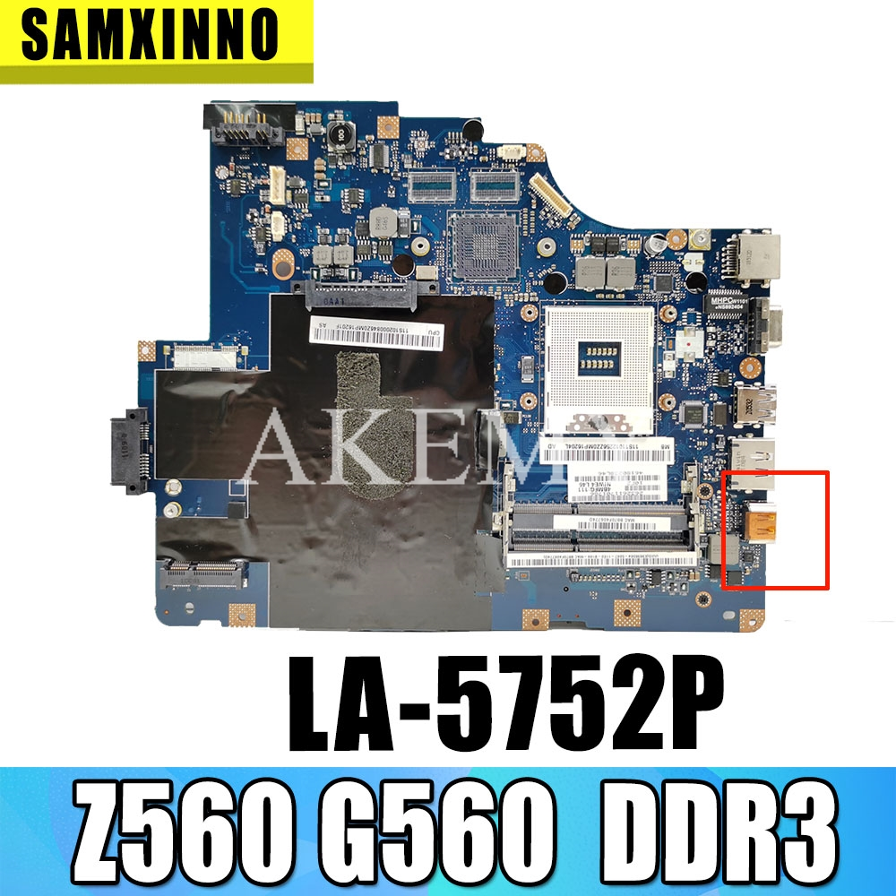Akemy Niwe2 La 5752p Main Board For Lenovo Ideapad Z560 G560 Laptop Motherboard Ddr3 Without Hdmi Port Motherboards Aliexpress