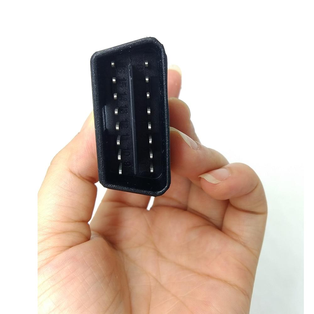 Новый 100% Оригинальный удлинитель Launch X431 Idiag OBD16 pin кабель для Idiag easydiag android ios/5C/V/PRO/GOL, бесплатная доставка