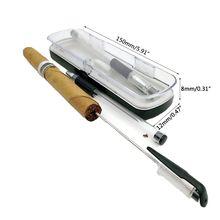 2шт Нержавеющей Стали игла для сигар перфоратор портативный металлический перфоратор аксессуары для курения путешествий