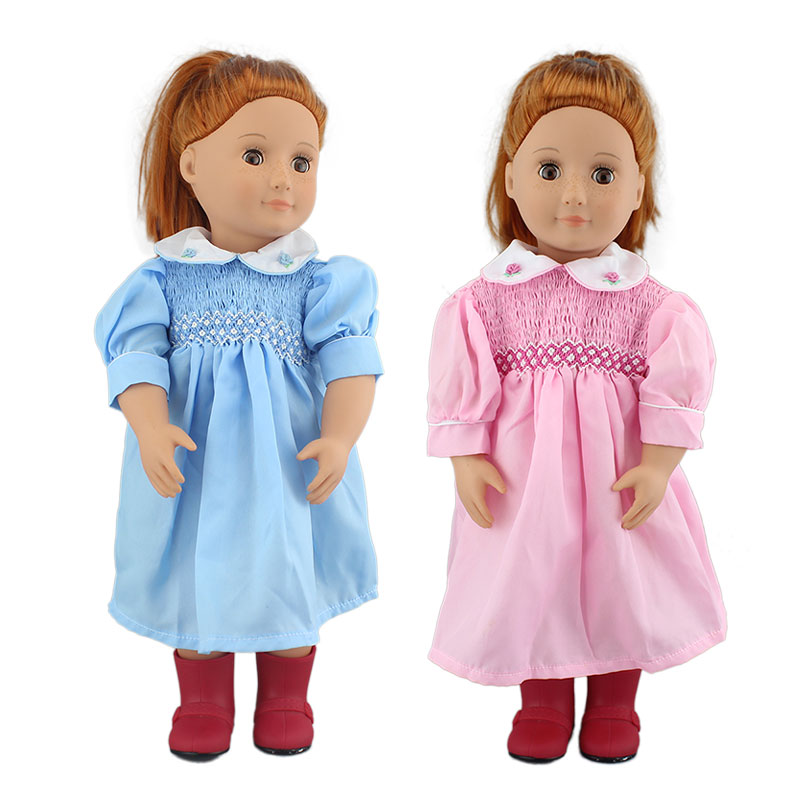 New Dress Fir For 18 Inch Girl Doll 46cm American Doll Clothes