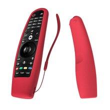 سيليكون حقيبة لجهاز LG AN MR600 التلفزيون الذكية MR650 غطاء لجهاز التحكم عن بعد SIKAI ل LG OLED TV ماجيك عن بعد AN MR18BA 19BA 20GA