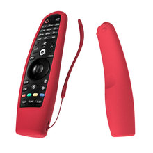 Siliconen Case Voor Lg Smart Tv AN MR600 MR650 Afstandsbediening Cover Sikai Voor Lg Oled Tv Magic Remote Een MR18BA 19BA 20GA