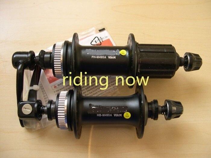 HB-M495 FH-M495 концентратор MTB велосипеда дисковый тормоз ступицы 32H 8S 9S для M495 100 мм 135 мм