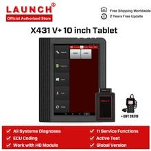 Launch X431 V Plus автомобильный диагностический сканер Диагностика Авто полная система Диагностика Профессиональный сканирующий инструмент универсальный PK X431 V PRO