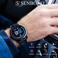 Смарт-часы SENBONO S10 pro 2020 для мужчин и женщин  Смарт-часы с пульсометром  Смарт-часы с напоминанием Facebook для телефонов IOS и Android